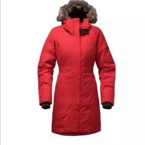 20ca543fc61ae The North Face Jackets   Coats - The North Face Arctic Parka II TNF Red Sz